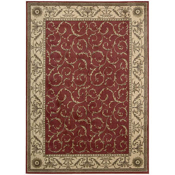 Nourison Somerset ST02 5'7 x 7'6 Rug - Red