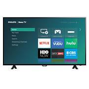 "Philips 50PFL4662 50"" 4K UHD Roku Smart LED TV"