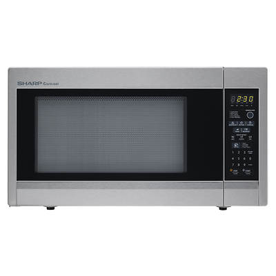 Sharp 1.8-Cu. Ft. 1,100W Microwave - Stainless Steel