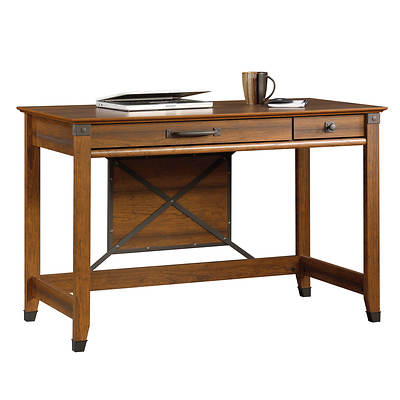 Sauder Woodworking Carson Forge Collection Writing Desk - Washington Cherry