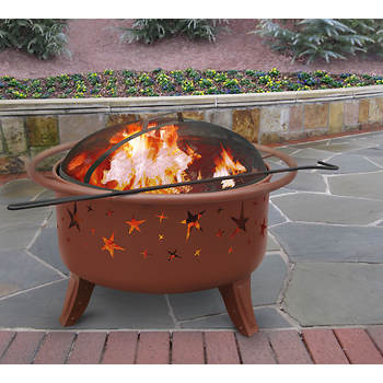 Landmann Patio Lights Starlight Fire Pit - Georgia Clay