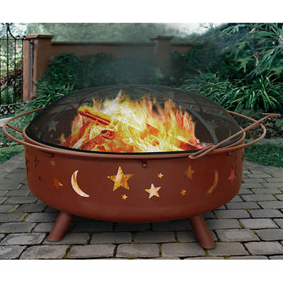 Landmann Super Sky Stars and Moons Fire Pit - Georgia Clay