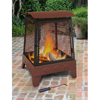 Landmann Haywood Outdoor Fireplace - Georgia Clay