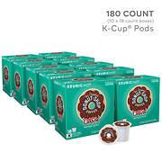 Donut Shop Dark Roast K-Cup Pods, 180 ct.