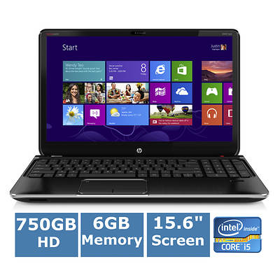 HP Envy dv6-7220us Laptop, 2.5GHz Intel Core i5-3210M Processor