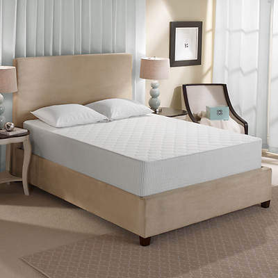 "Sleep Innovations Touch of Comfort California King-Size 12"" Gel-Infused Memory Foam Mattress"