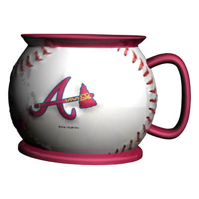 Atlanta Braves 16-Oz. Baseball Coffee Mug