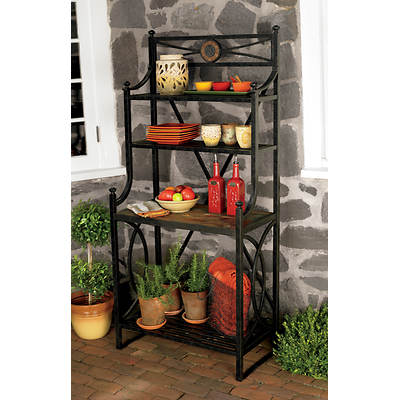 Living Home Outdoors Corsica Baker's Rack