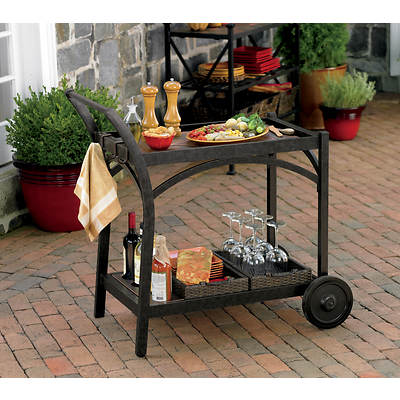 Living Home Outdoors Corsica Patio Cart