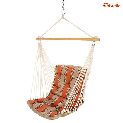 Castaway by Pawleys Island Tufted Fabric Swing