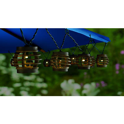 Living Home Outdoors Deluxe LED Patio/Umbrella Lights, 25 Count