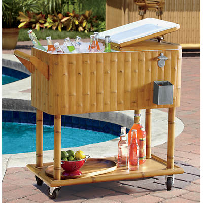 Living Home Outdoors 80-Qt. Tiki Cooler