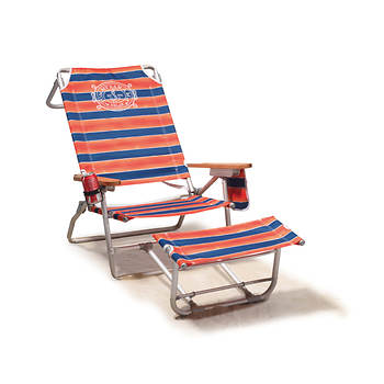 Tommy Bahama Deluxe Oversized Footrest Beach Chair