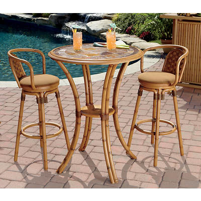 Living Home Outdoors High Tiki Table