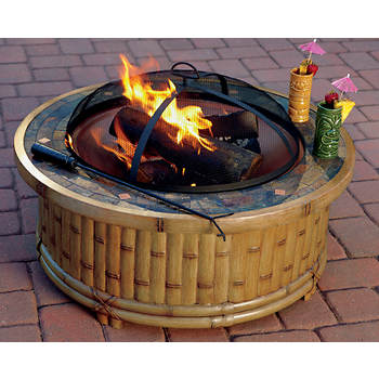 Living Home Outdoors Tiki Fire Pit