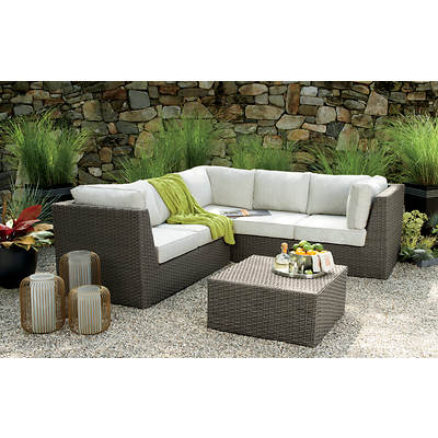 Living Home Outdoors Moderne 3-Piece Sectional Set