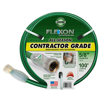 Flexon 100' All-Season Contractor Grade Hose