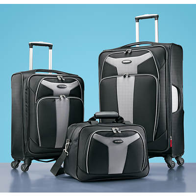 Samsonite Lite 2.0 3-Piece Luggage Set - Black