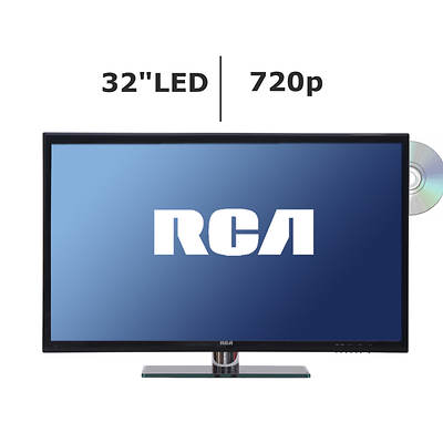 "RCA 32"" LED TV 720p 60Hz DVD Combo"