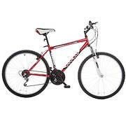 "Titan Pathfinder Men's 26"" 18-Speed All-Terrain Mountain Bike - Red"