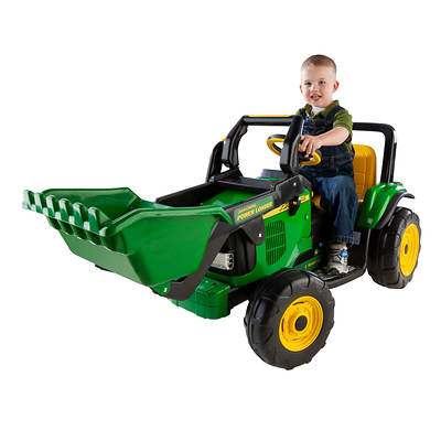 Peg Perego John Deere Power Loader with Working Front Scoop
