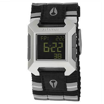 Nixon The Block Men's Cuff Strap Watch in Stainless Steel