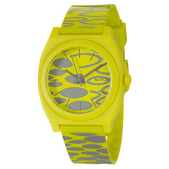 Nixon The Time Teller Men's Strap Watch in Polycarbonate