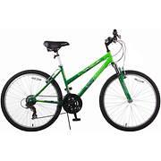"Titan Trail Women's 26"" 21-Speed Mountain Bike - Green/Dark Green"