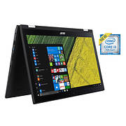 Acer Spin 3 2-in-1 Laptop, Intel Core i3-7100U Processor, 6GB Memory,