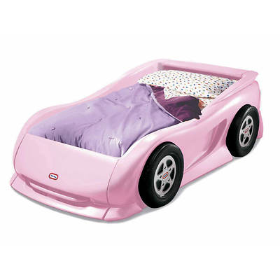 Little Tikes Twin-Size Race Car Bed - Pink