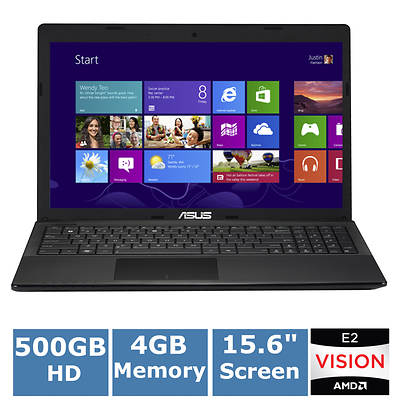ASUS R503U-RH21 Laptop, 1.7GHz AMD E2-1800 Processor