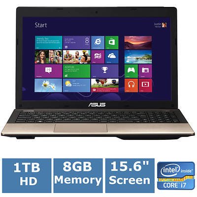 ASUS R500VD-RH71 Laptop, 2.4GHz Intel Core i7-3630QM Processor
