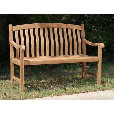 4' Teak Bench