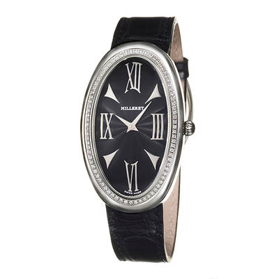 Milleret Anaconda Women's .40 ct. t.w. Diamond Strap Watch in Stainless Steel