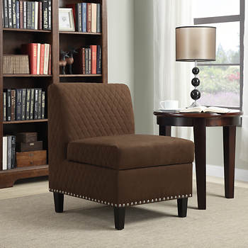 Handy Living Storage Chair - Brown