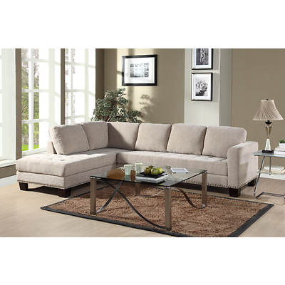 Abbyson Living Claridge Sectional - Beige