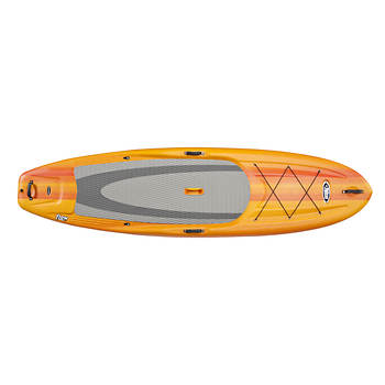 "Pelican Flow 106X 10'6"" Adult Stand Up Paddleboard with Paddle"