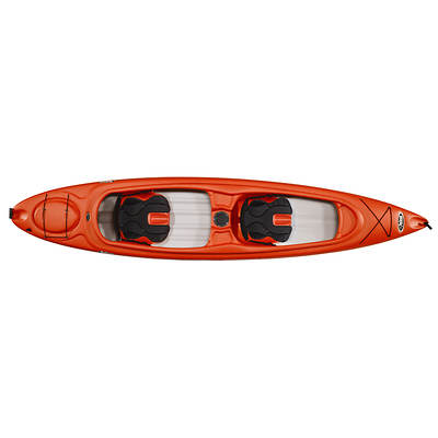 Pelican Esprit 136T 14' 2-Person Adult Sit-In Kayak with Paddles