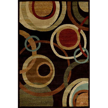 Interval Celestial 7'10 x 9'10 Rug - Dark Wine