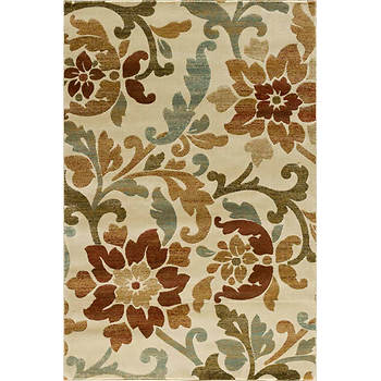 "Interval Darby 7'10"" x 9'10"" Rug - Cream"