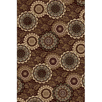 "Interval Coronado 7'10"" x 9'10"" Rug - Dark Wine"