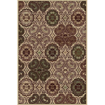 Interval Kettle 5' x 7'7 Rug - Cream