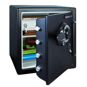 SentrySafe Fire-Safe 1.2-Cu.-Ft. Water-Resistant Safe with Combination Lock