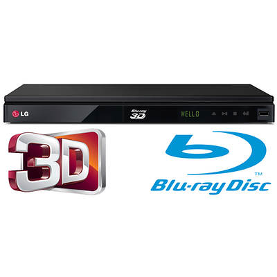 LG BPM53 Smart TV 3D/2D Blu-ray Disc Player with Built-In Wi-Fi
