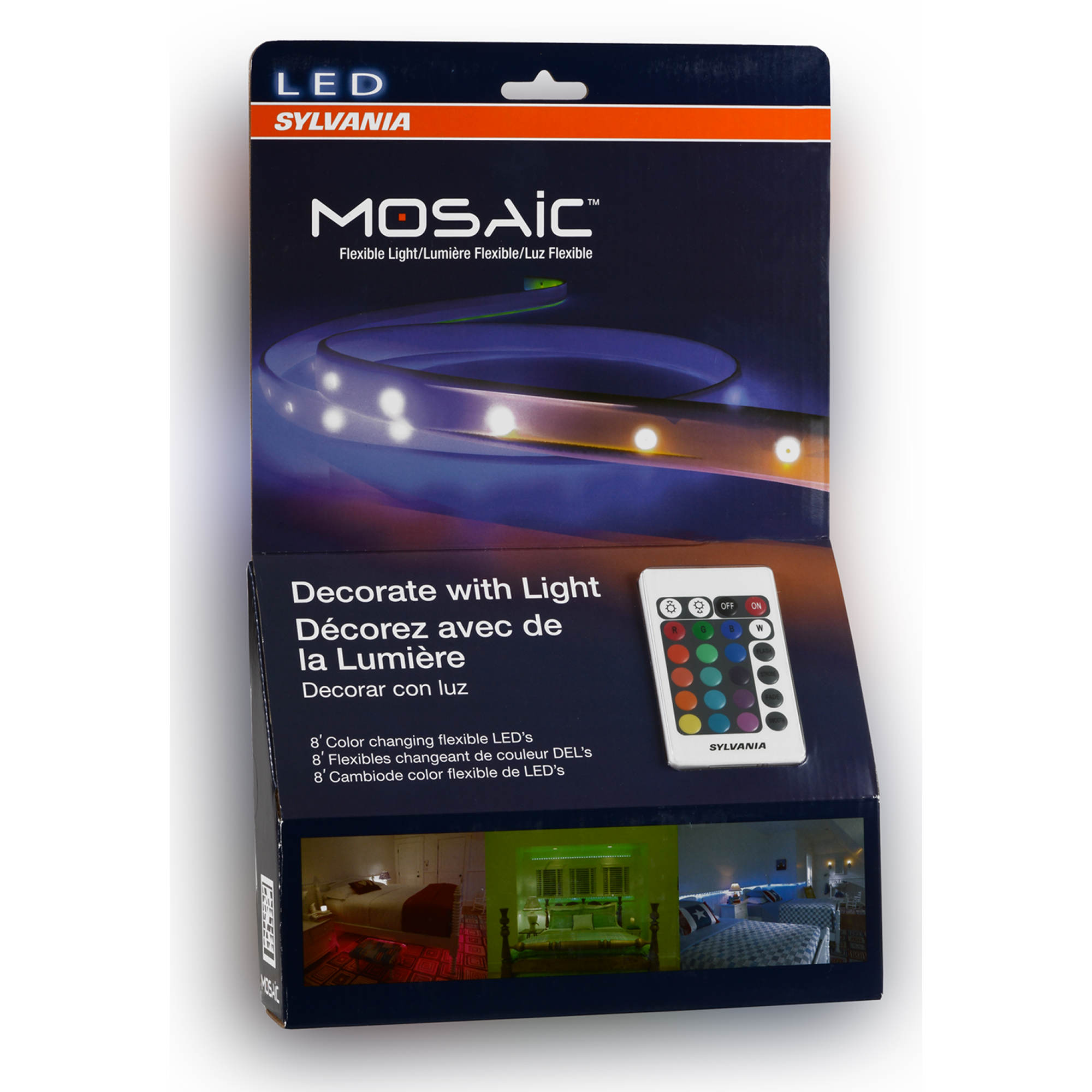 Sylvania Mosaic Color Changing Led Strip Lights