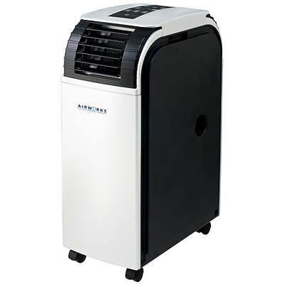 Gracious Living AIRWORKS 12,000 BTU Portable Air Conditioner