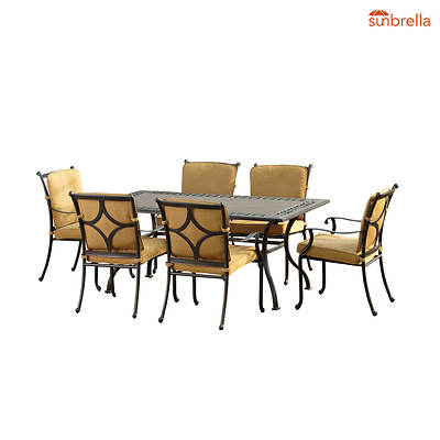 Sunjoy Echo 7-Piece Dining Set