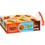 Thomas' Light Multi-Grain English Muffin, 2 pk./9 ct.