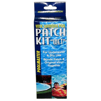 Poolmaster Vinyl Swimming Pool Patch Kit, Wet, 2 Oz.