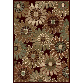 Portrait Gloria 5' x 7' Rug - Dark Wine